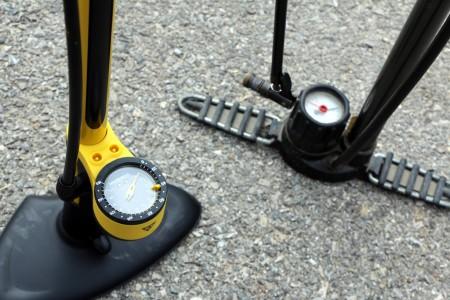 cyclisme choisir une pompe à pied