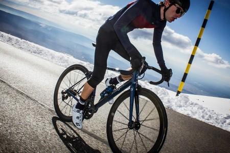Cycliste Image grands froids : quelle température ressentie pour le cycliste ?