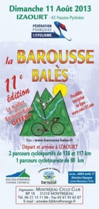 Image de l'évènement La Barous-Balès 2013