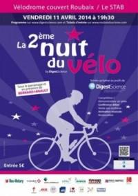 Image de l'évènement Deuxième Nuit du Vélo 2014