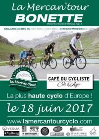 Image de l'évènement La Mercan'Tour Bonette-Café du Cycliste 2017