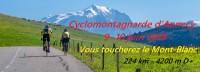 """Image de l'évènement cyclomontagnarde d'Annecy """"Vous toucherez le Mont-Blanc"""" option touriste 2018"""
