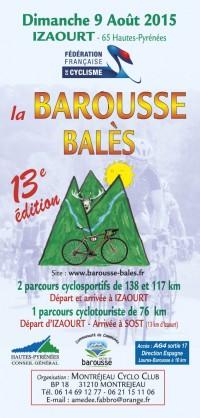 Image de l'évènement La Barous-Balès 2015