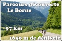 """Image de l'évènement cyclomontagnarde d'Annecy découverte """"Le Borne"""" 2018"""