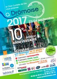 Image de l'évènement Course cyclosportive La Dromoise 2017