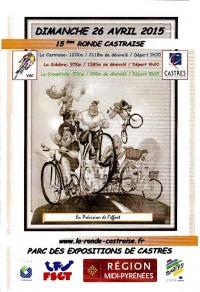 Image de l'évènement La Ronde Castraise 2015