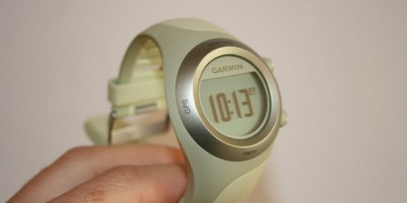Test montre GPS Garmin Forerunner 405