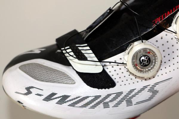 La compositiond'une chaussure de vélo