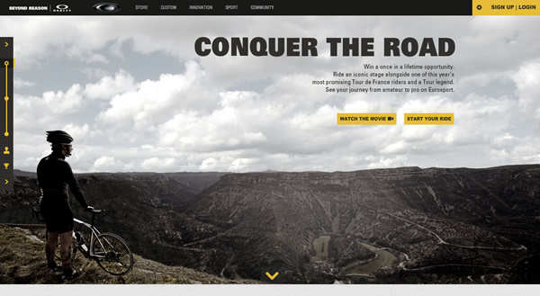 Conquer the Road by Oakley