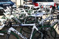 Les coulisses d'une équipe cycliste sur le Tour de France