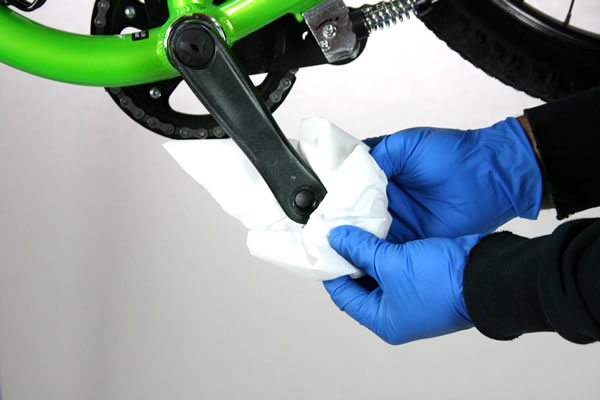 Démontage pédale de vélo
