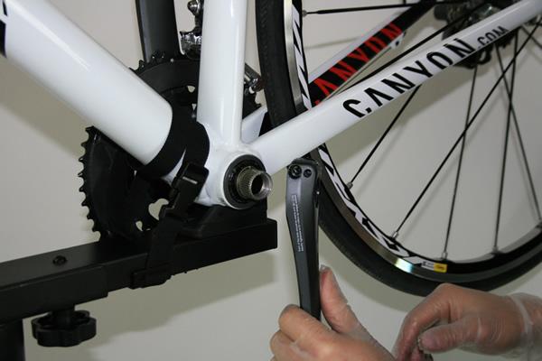 Démontage pédalier vélo Shimano Ultegra FC 6750 Press Fit