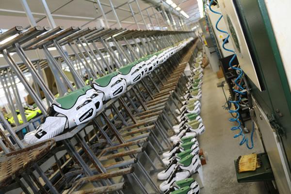 Fabrication d'une chaussure de vélo