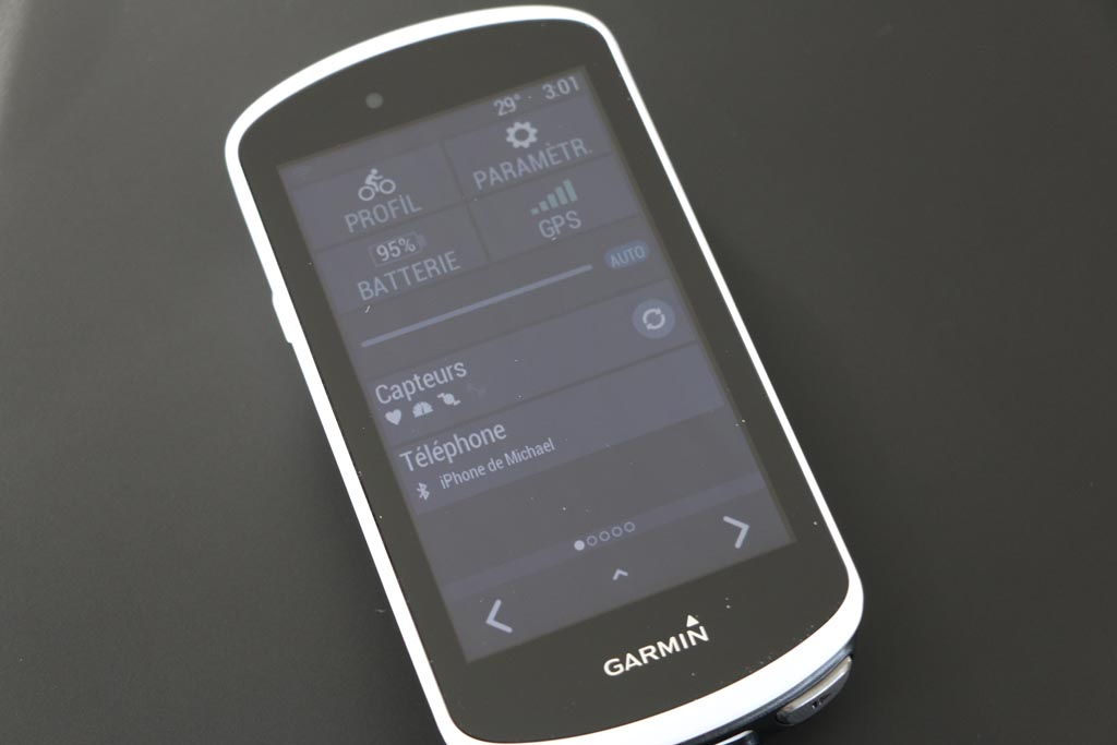 Test Garmin Edge 1030