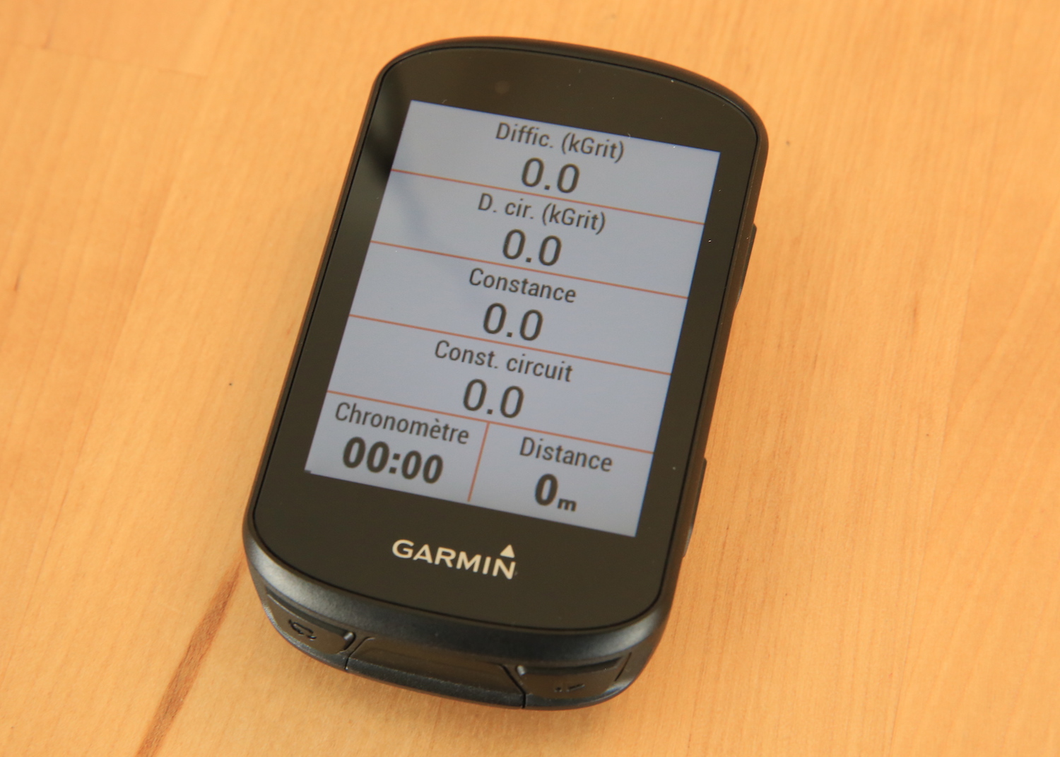 Garmin Edge 530 VTT