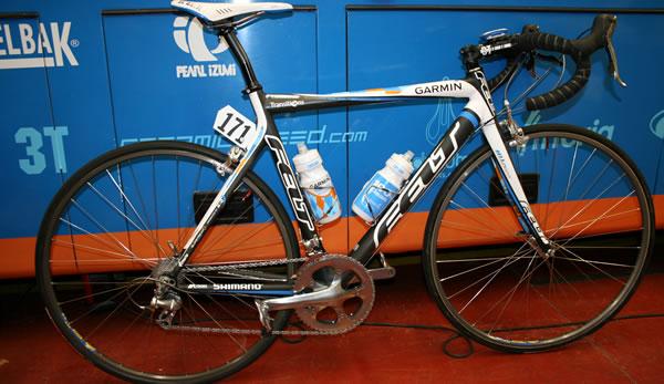 Team Garmin Transitions - Vélo spécial pavé