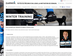 Garmin Wintertraining