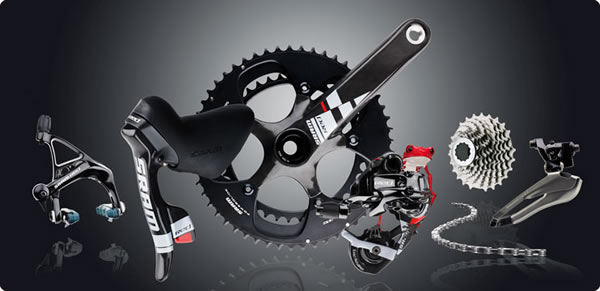 Groupe SRAM RED All Black 2011