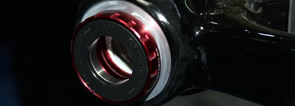 Montage boitier de pédalier torque et pédalier FSA K Force Light