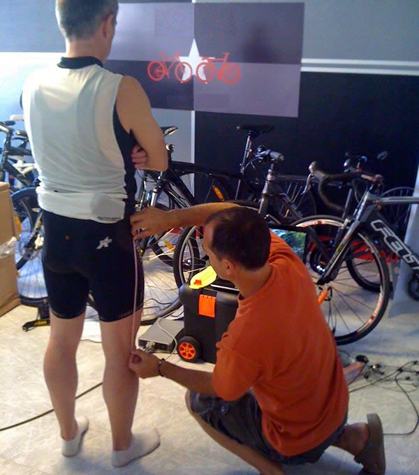 Position sur le vélo