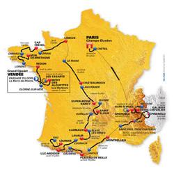Le principe du Tour de France