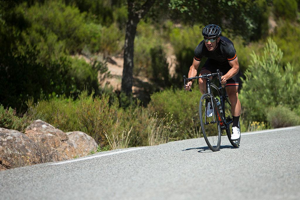 Progresser dans les cols à vélo