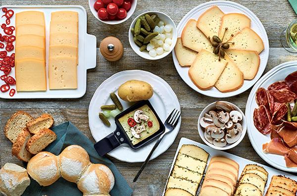 tranches de fromage faible en grasia