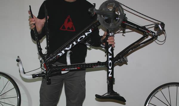 Préparer le vélo