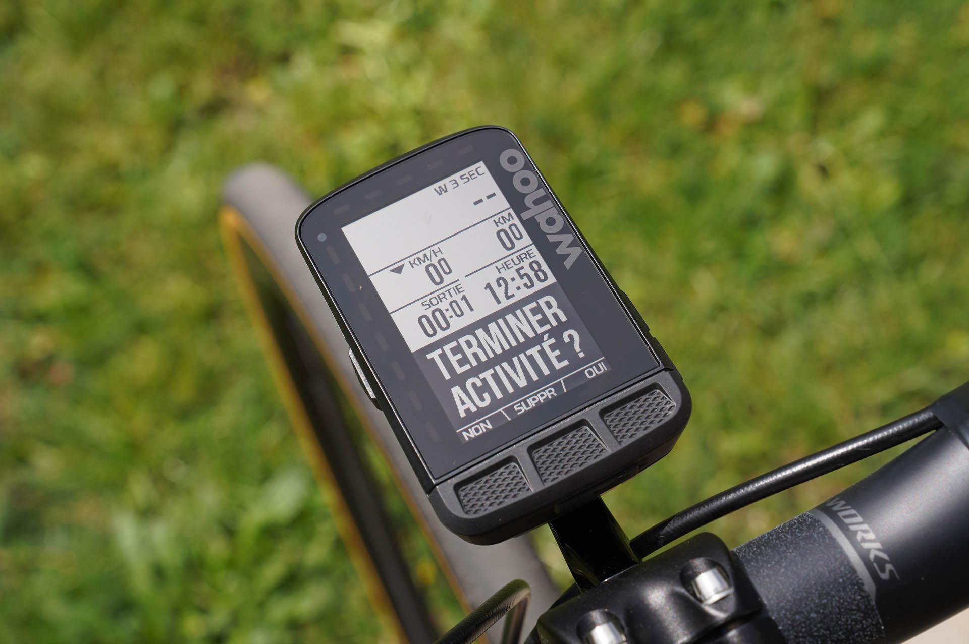 GPS Vélo Wahoo Elemnt Roam